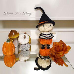 Halloweeni boszorkány