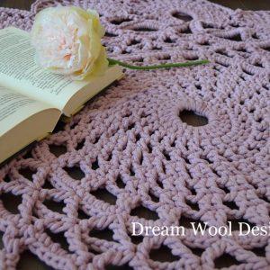 Dusty pink szőnyeg